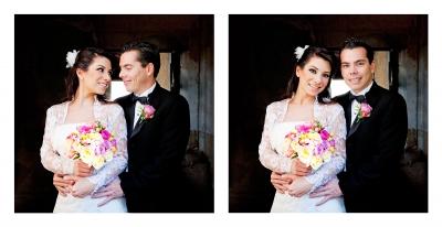 Karen Ahumada y Juan Carlo Michel